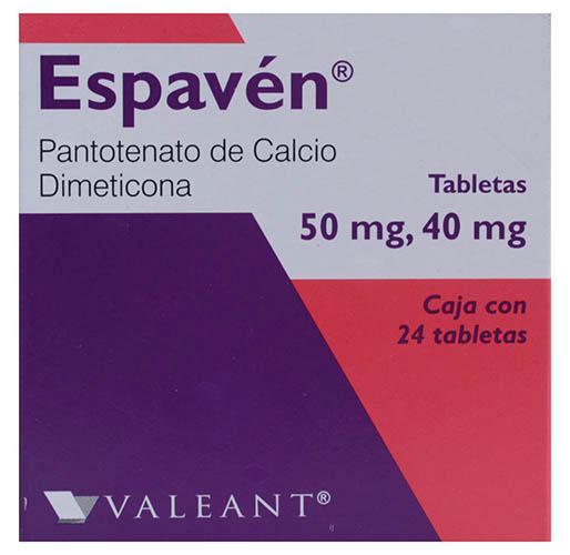 Espavén tabletas 50 mg/40 mg