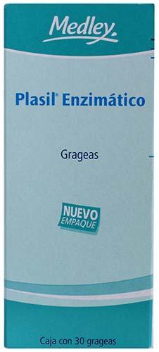 Plasil enzimático grageas