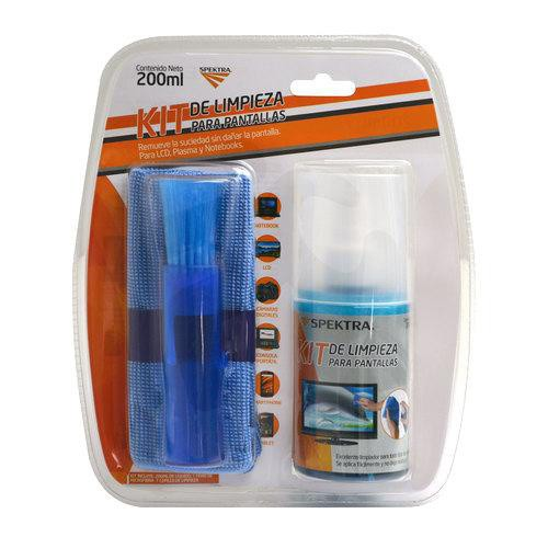 Kit de limpieza 3 en 1: 200ml de líquido + paño + cepillo