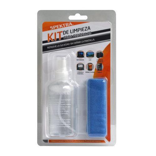 Kit de limpieza 2 en 1: 120ml de líquido + paño