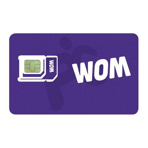 SIM Prepago WOM 2000
