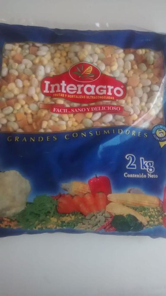 Porotos granados a la chilena iqf  2 kilos