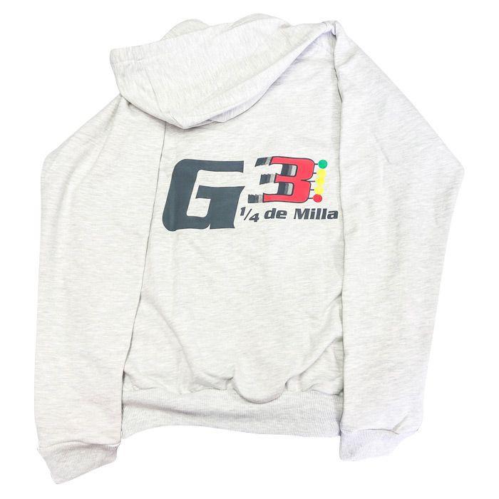 Saco del club g3 1/4 de milla gris Talla única