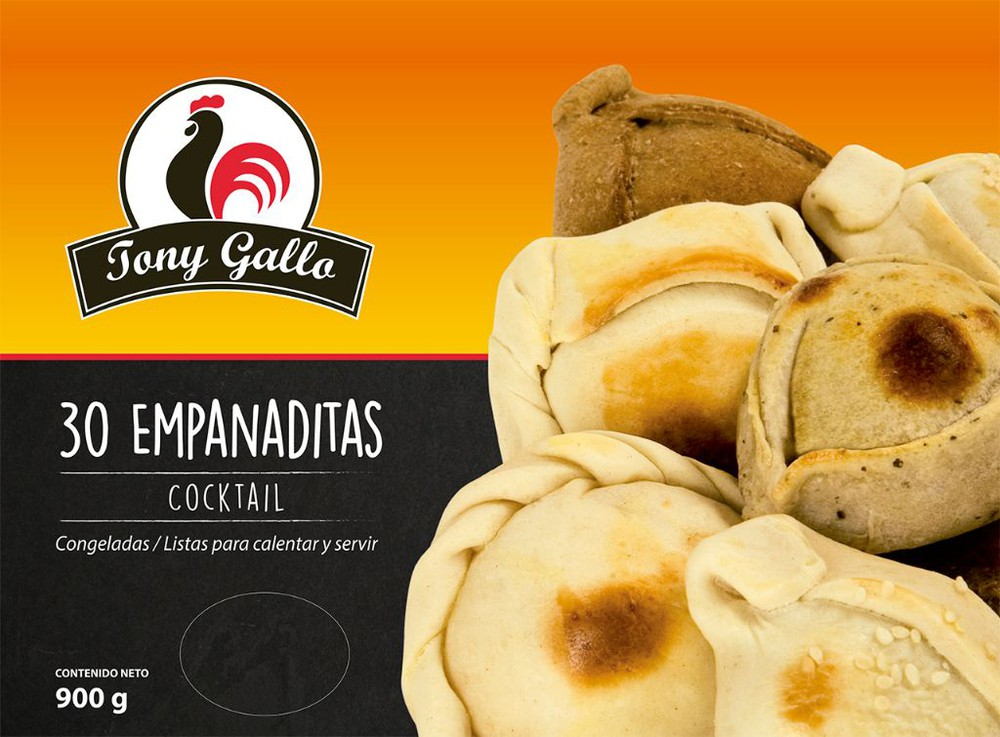 Empanaditas espinaca-queso Bolsa de 30 unidades de 900 gr