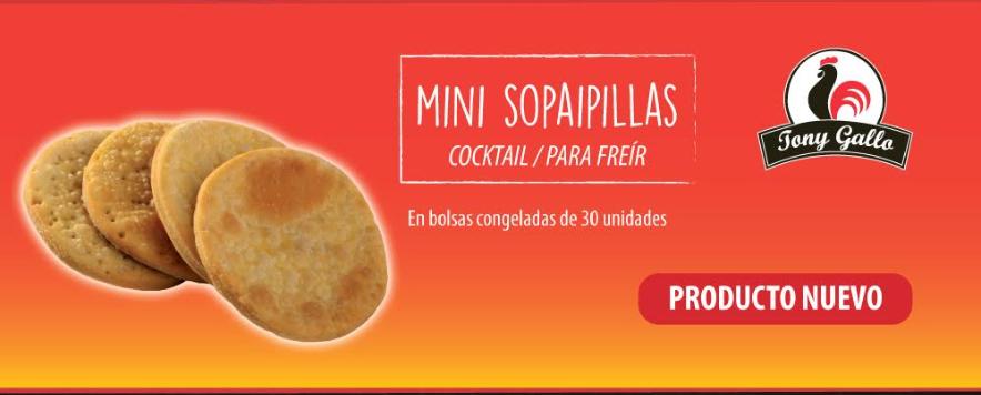 Mini sopaipillas