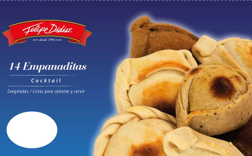 Empanaditas de pollo ciboulette con queso crema