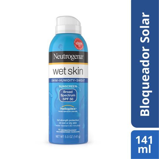 Protector solar wet skin fps 50