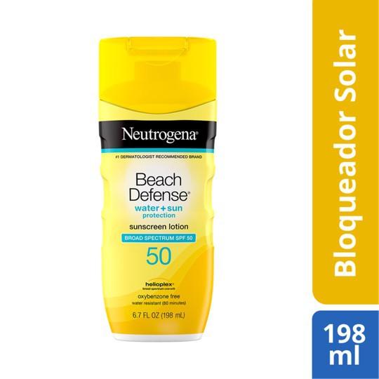 Protector solar beach defense spf50
