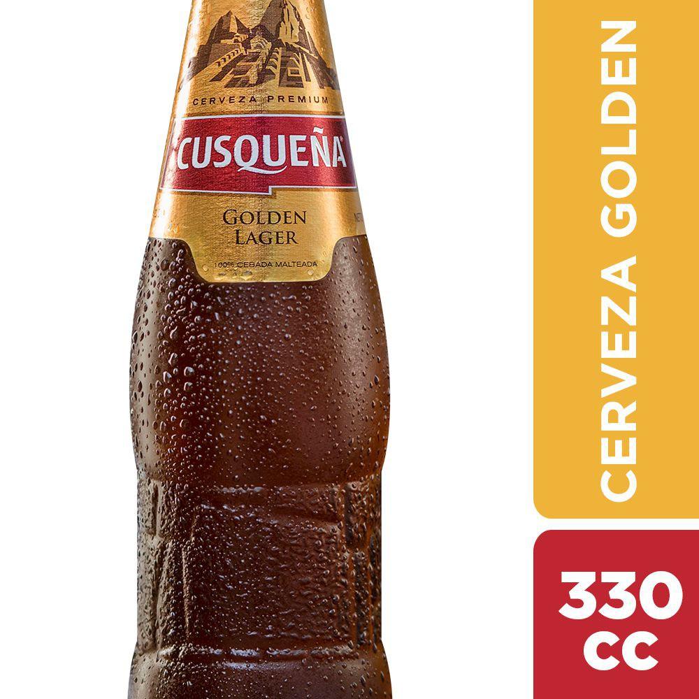 Cerveza cusqueña golden