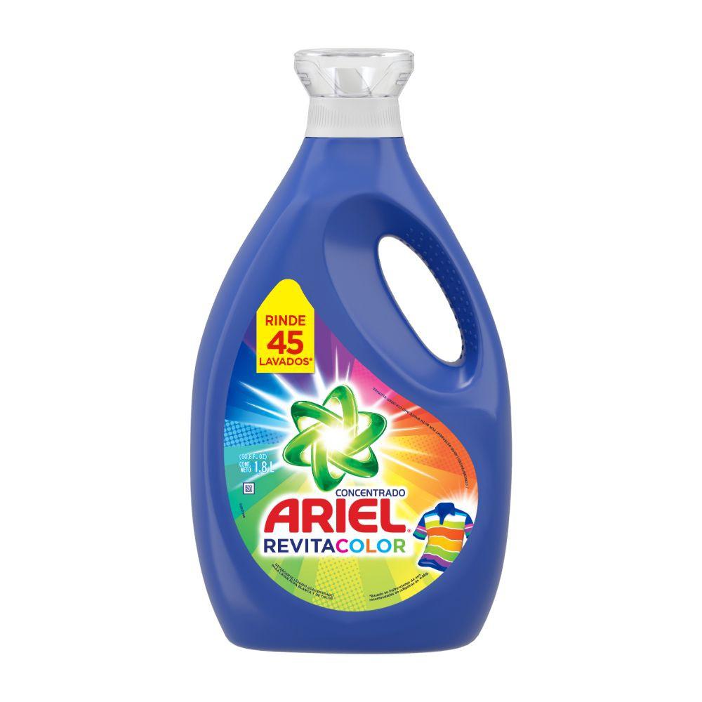 Detergente líquido concentrado revitacolor 1.8 L