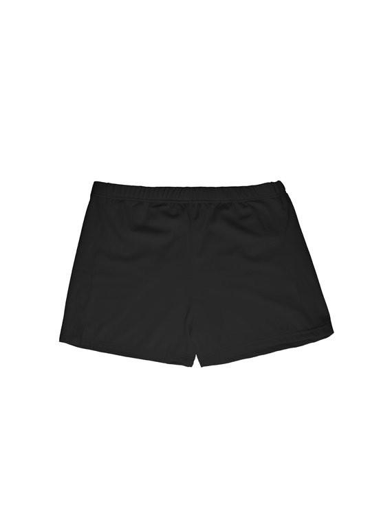 Bikini short de lycra negro