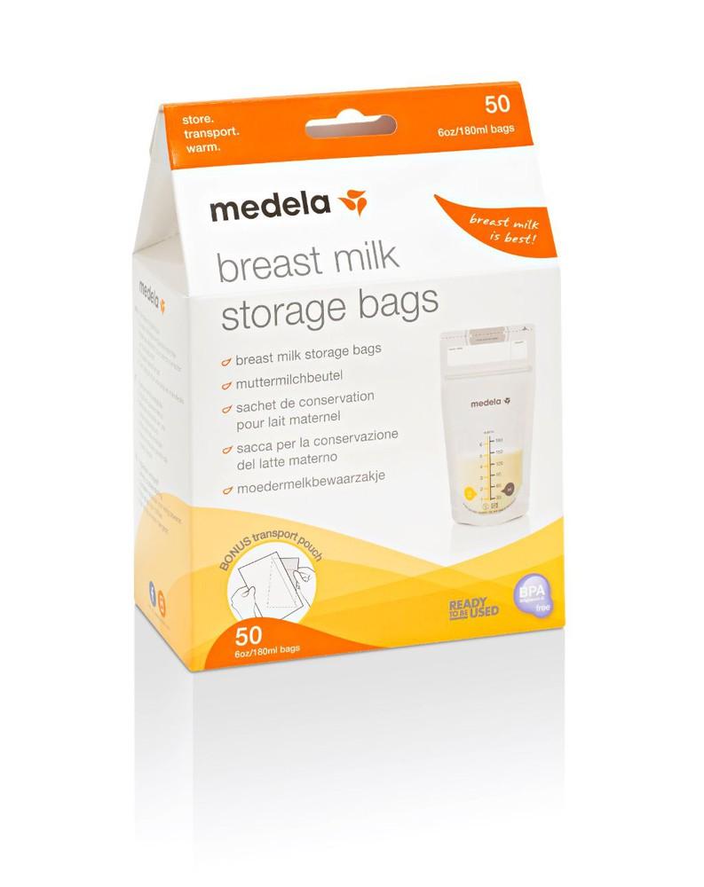Bolsa para almacenar leche materna