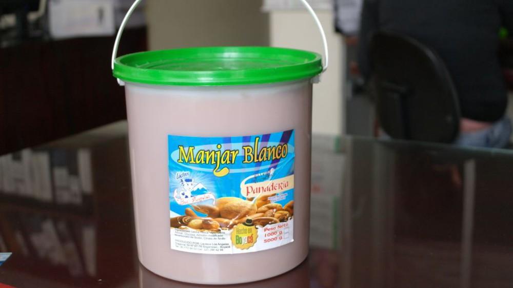 Manjar blanco tarro x 1000 kg