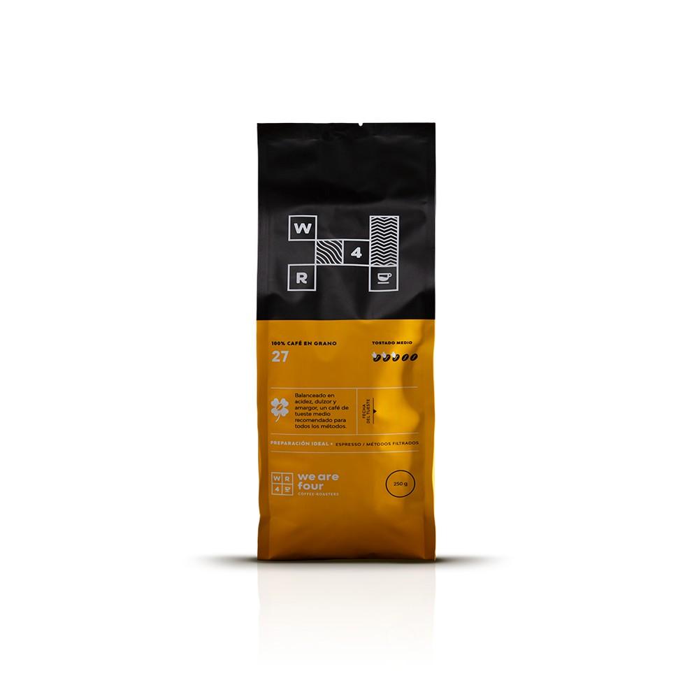 Café molienda fina 250grs