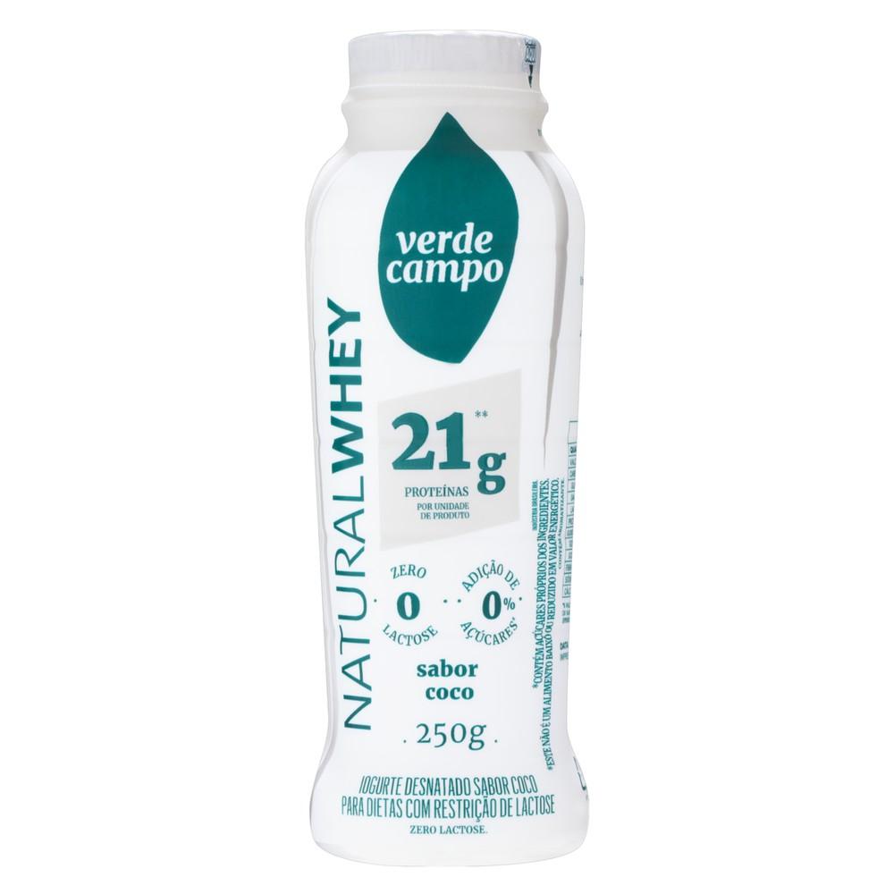 Bebida láctea Natural Whey sabor coco lacfree