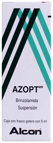 Azopt suspensión oftálmica 1 %