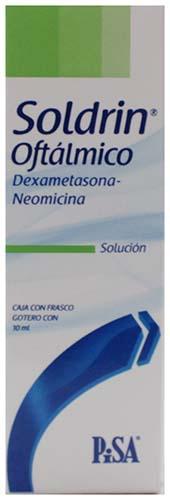 Solución oftálmica Soldrin