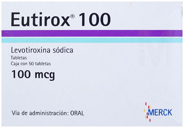 Eutirox 100 mcg