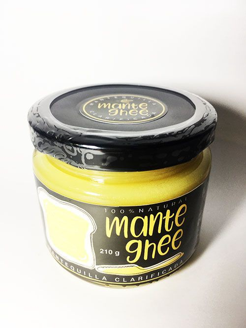 Ghee mantequilla clarificada