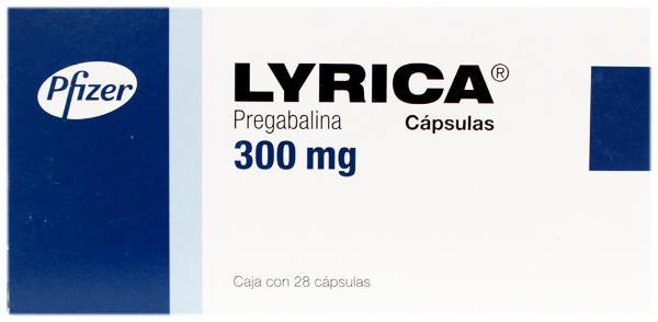 Lyrica cápsulas pregabalina 300 mg