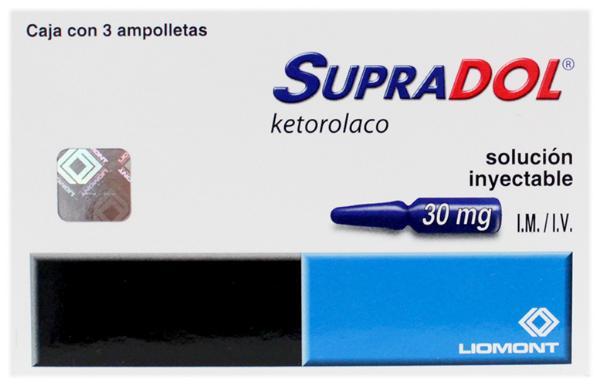 Supradol ketorolaco 30 mg