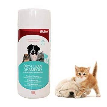 Shampoo seco para perros y gatos