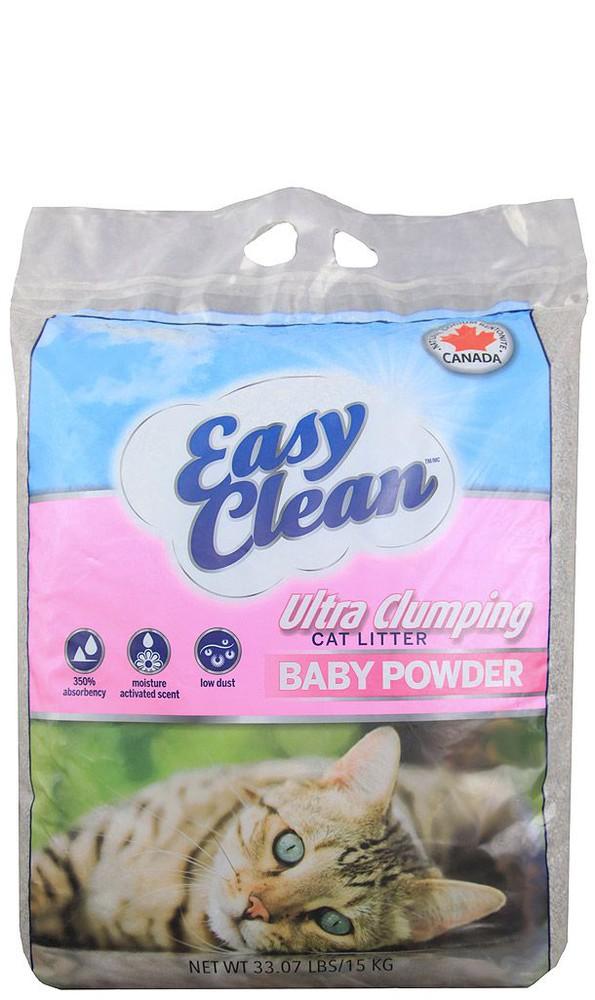 Easy clean baby powder