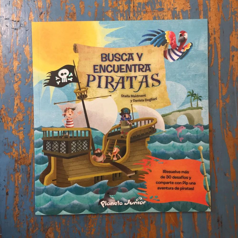 Busca y encuentra: piratas Tapa blanda