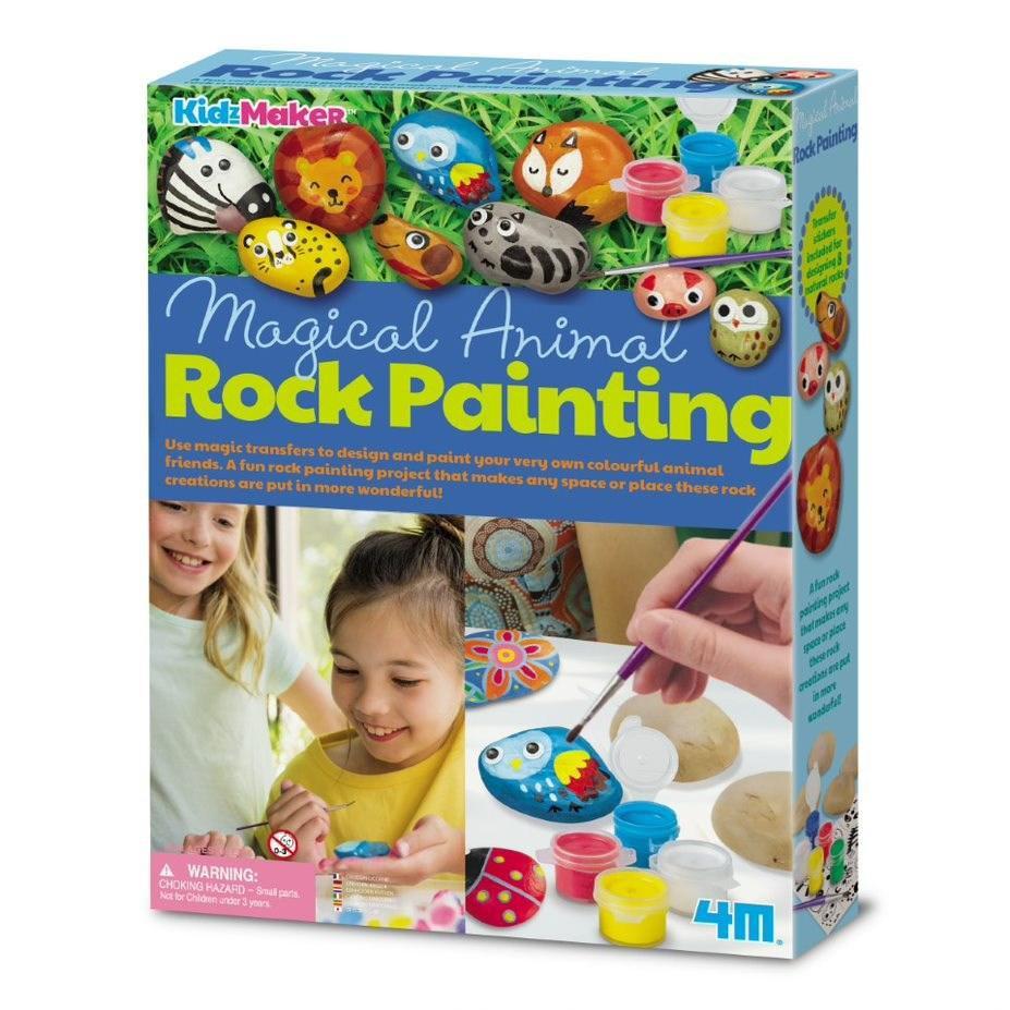 Pinta piedras animales