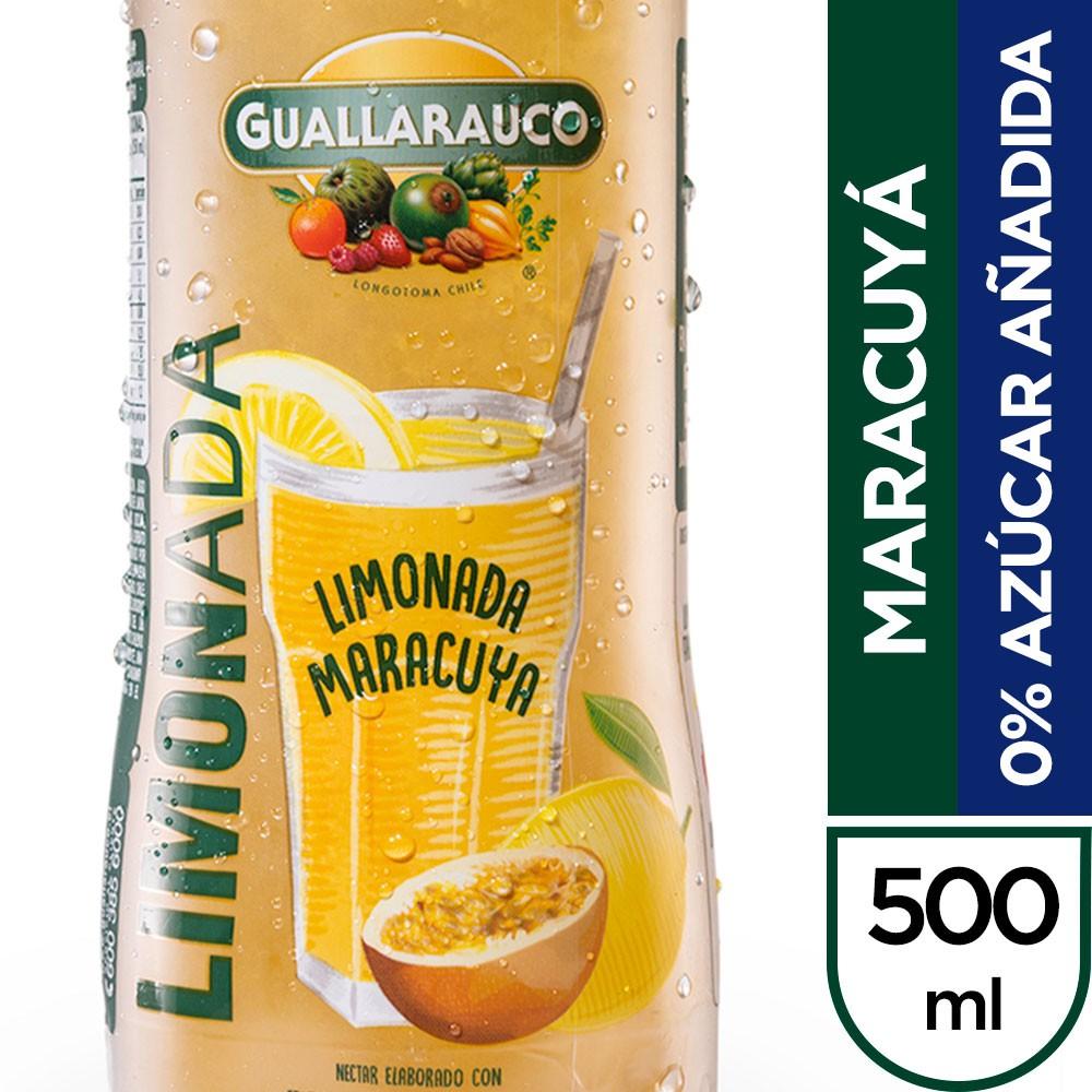 Limonada maracuyá 0% azúcar añadida