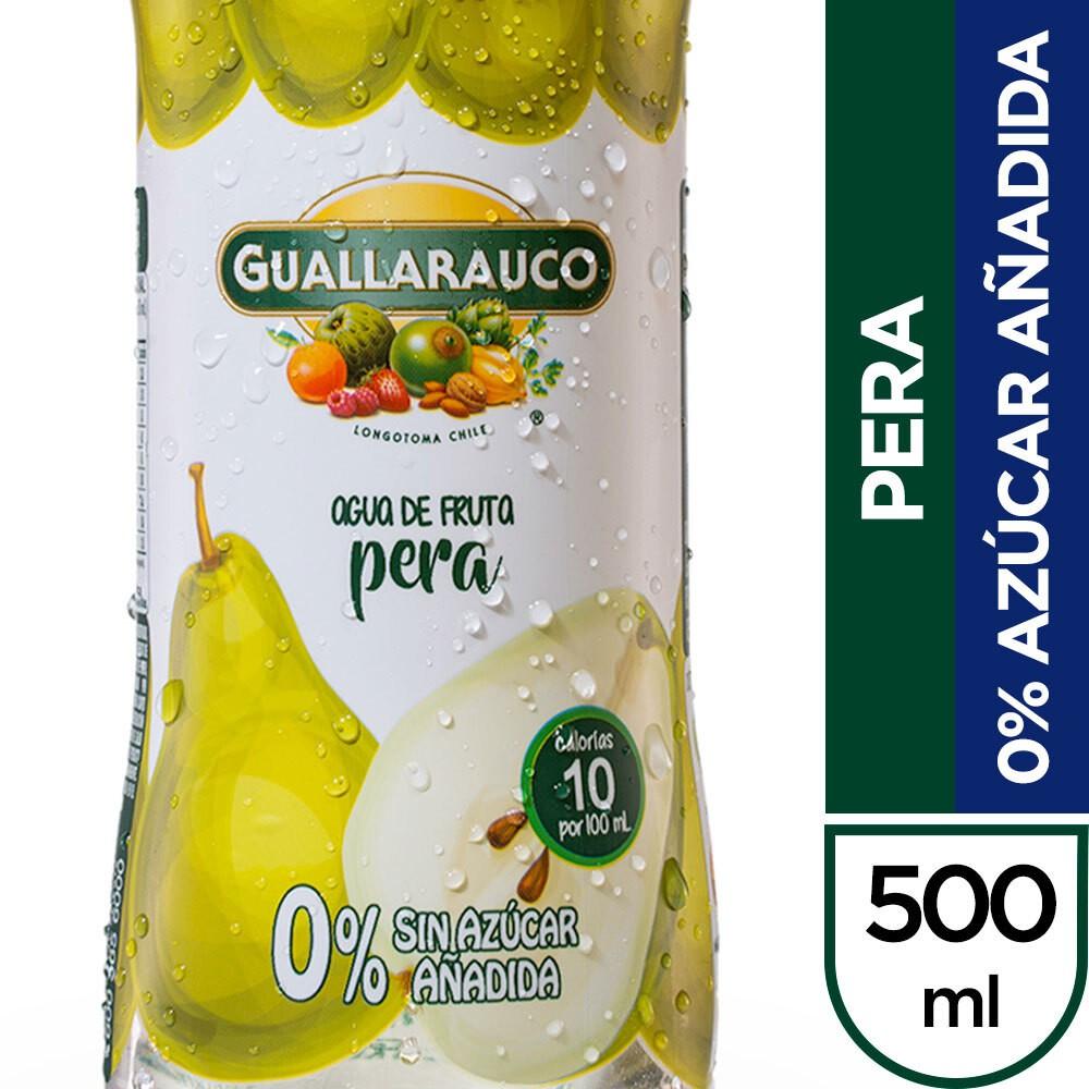 Agua saborizada pera 0% azúcar añadida Botella 500 ml
