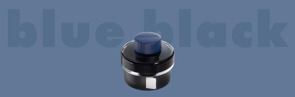 Frasco De Tinta Negro/Azul Con Secante