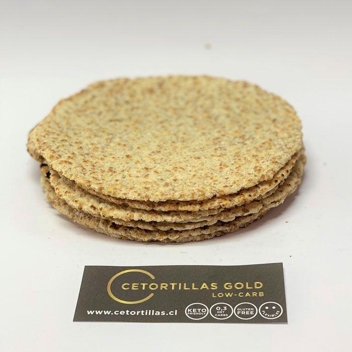 Tortillas gold linaza/harina coco 8 u