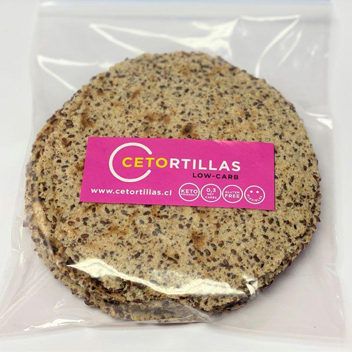 Tortillas de linaza y harina de coco 9 u