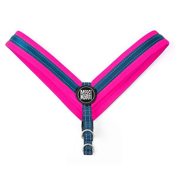 Arnés q-fit rosado (XL)