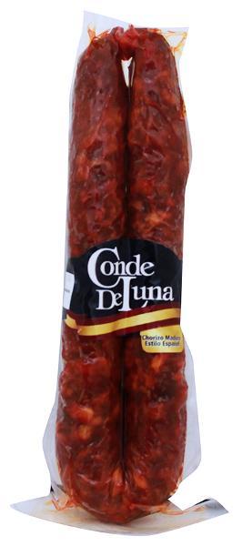 Chorizo maduro español