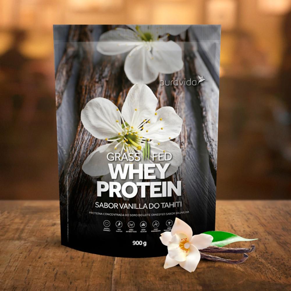 Whey Protein Grassfed Sabor Baunilha 900G