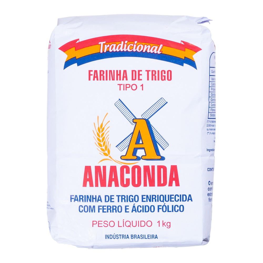 Farinha de trigo tipo 1 1kg
