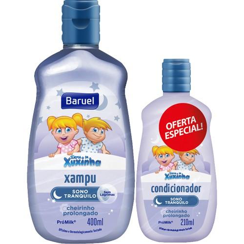 Kit shampoo + condicionador infantil sono tranquilo turma da Xuxinha