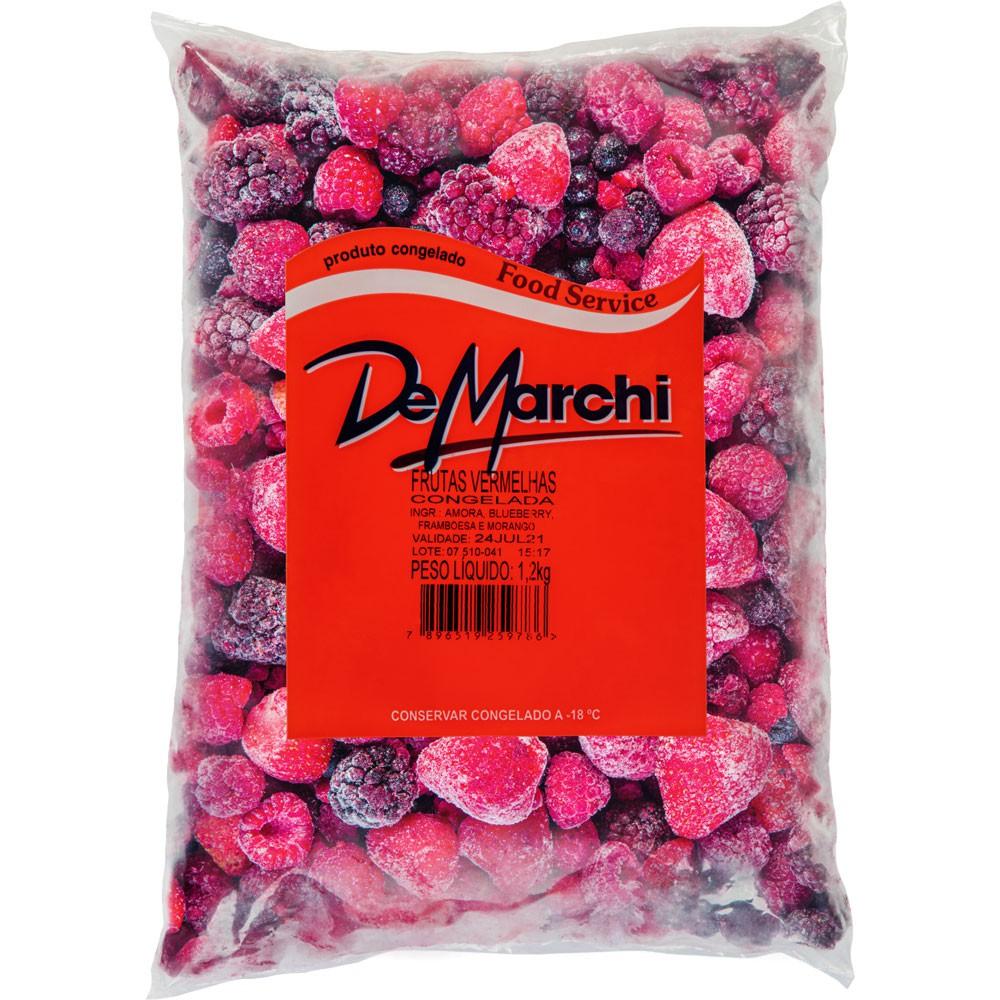 Frutas vermelhas congeladas 1,2kg