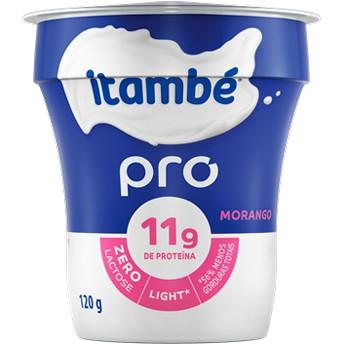 Iogurte natural pro light sabor morango