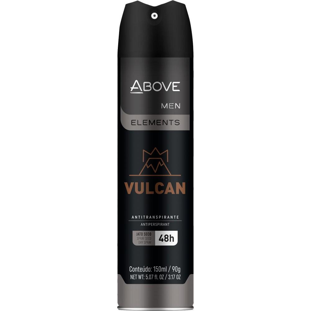 Desodorante aerossol elements vulcan