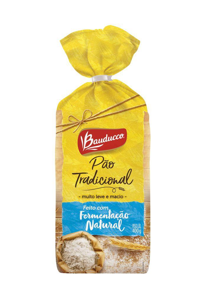 Pão de forma tradicional fermentação natural