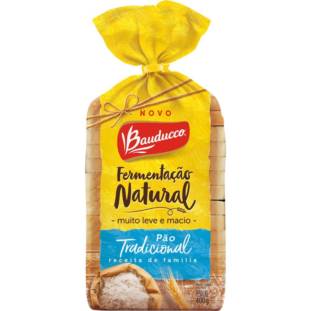 Pão de Forma Fermentação Natural