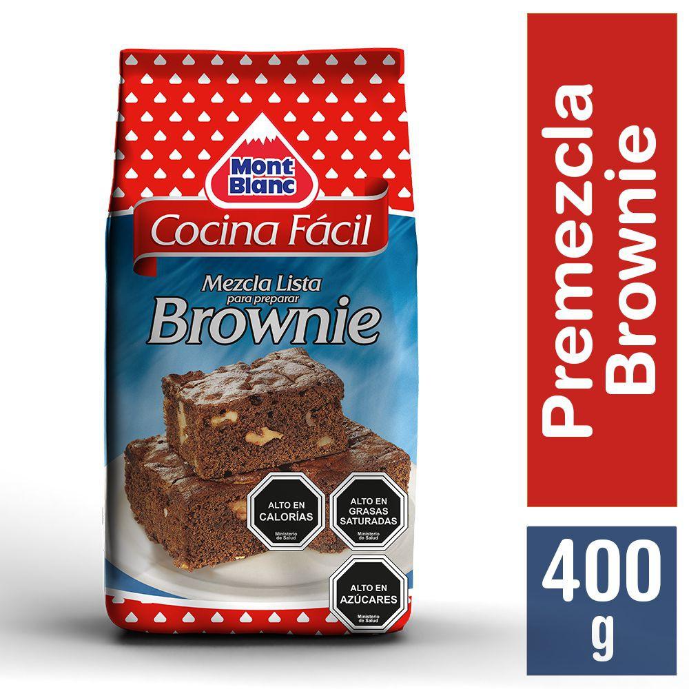 Premezcla cocina fácil brownies