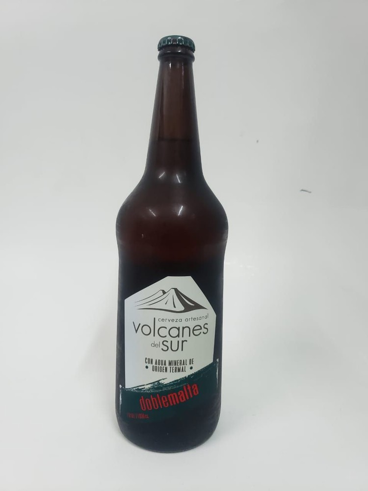 Cerveza volcanes del sur dobre malta 7.5º 1050 c.c.