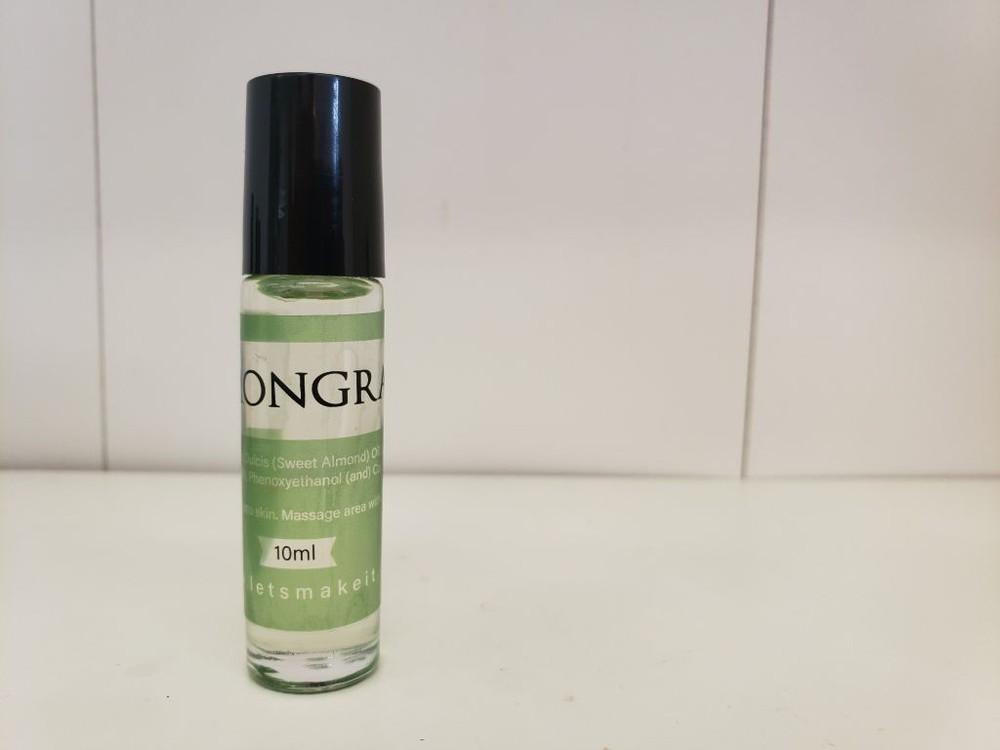 Scent roller bottles - lemongrass