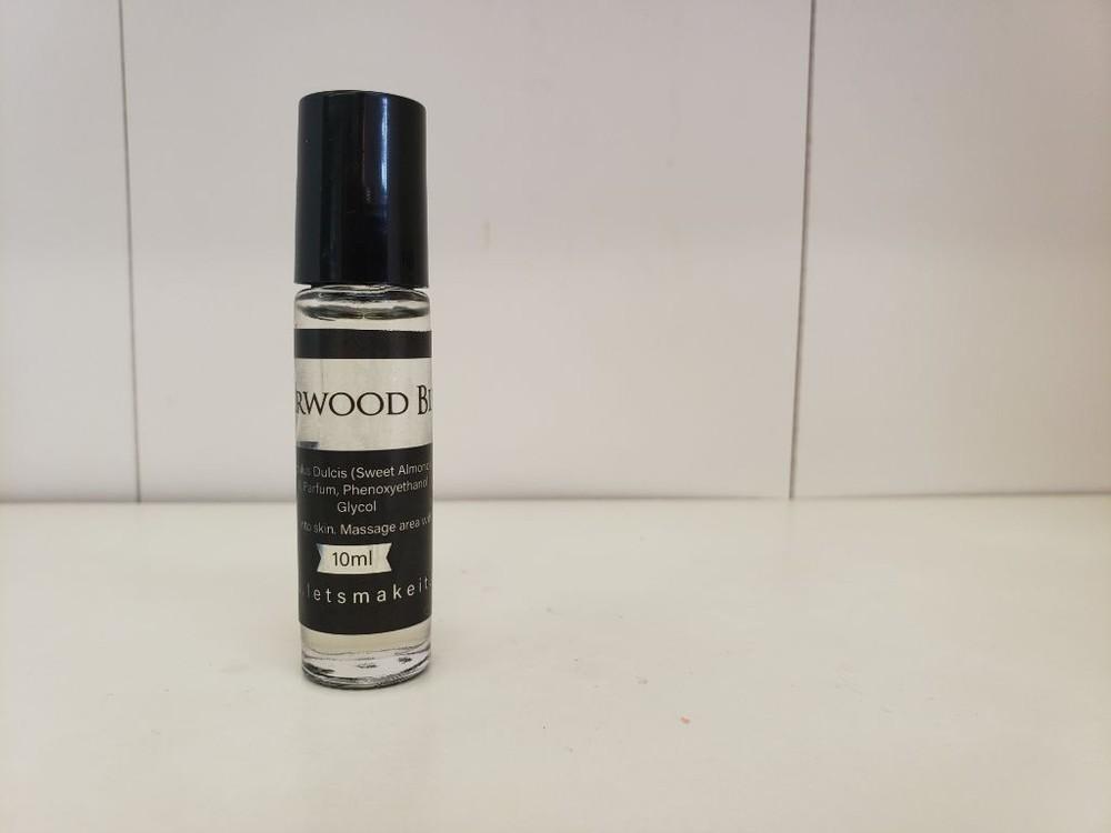 Scent roller bottles - cedarwood