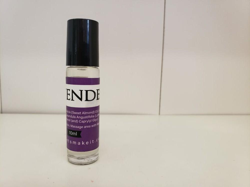 Scent roller bottles - lavender