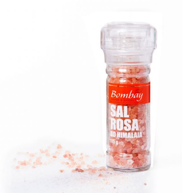 Moedor Sal Rosa Grosso Bombay